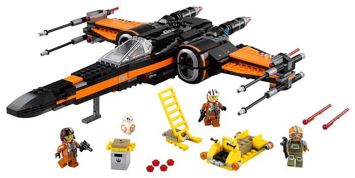 lego star wars x-wing fighter barato descuento rebajas