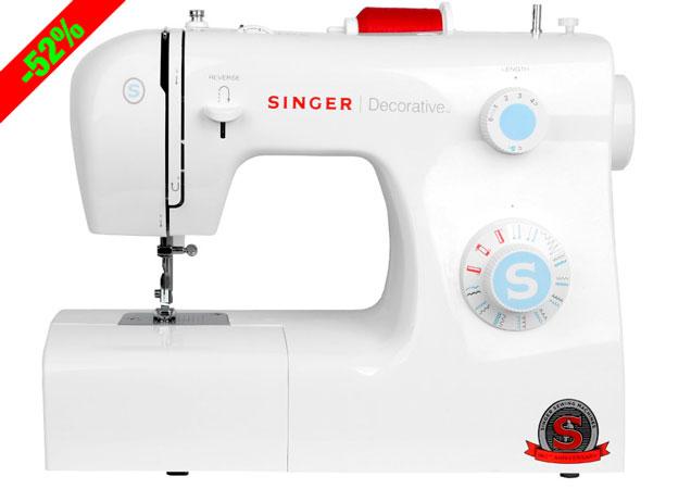 ¡Oferta Flash! Máquina de Coser Singer Decorative barata 122 euros. 52% Descuento