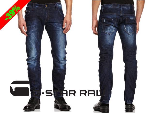 b890a79d27a ¡Chollo! Pantalon G-Star Basics Arc 3D Slim barato 61 euros. 39% Descuento