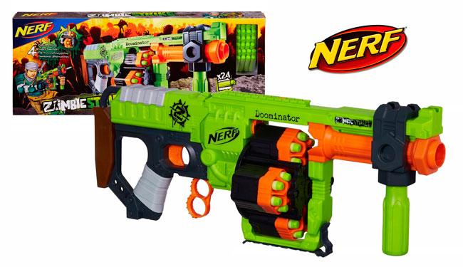 ¡La más buscada! Pistola Nerf Zoombie Strike Doominator barata 39,90 euros