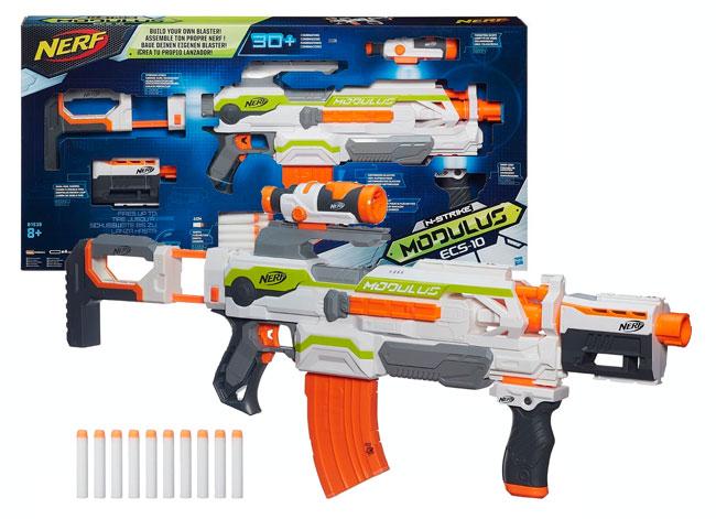 ¡La más vendida! Pistola NERF Elite Modulus barata 52 euros aquí