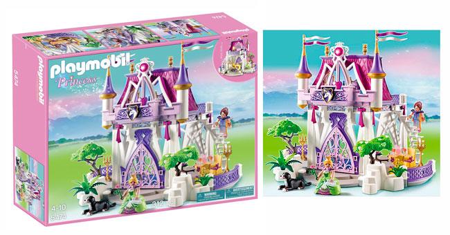 ¡Chollo! Castillo de Cristal Playmobil Princess (5474) barato 57 euros
