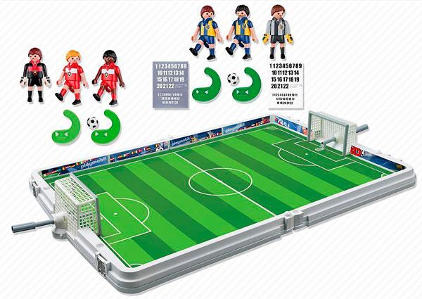 playmobil maletín set de fútbol barato