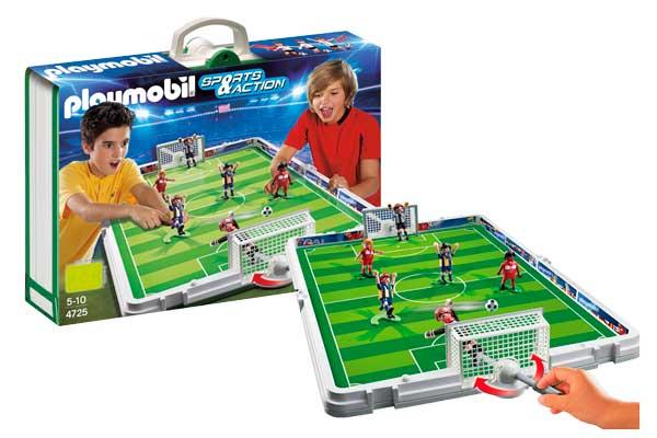 playmobil maletín set de fútbol barato oferta descuento chollo blog de ofertas
