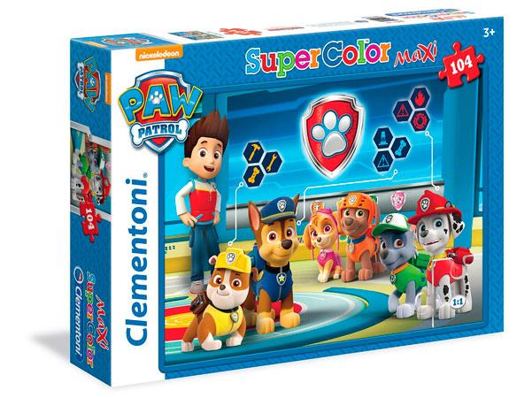 ¡Chollo! Maxi Puzzle de Patrulla Canina de Clementoni SuperColor barato 4,57 euros