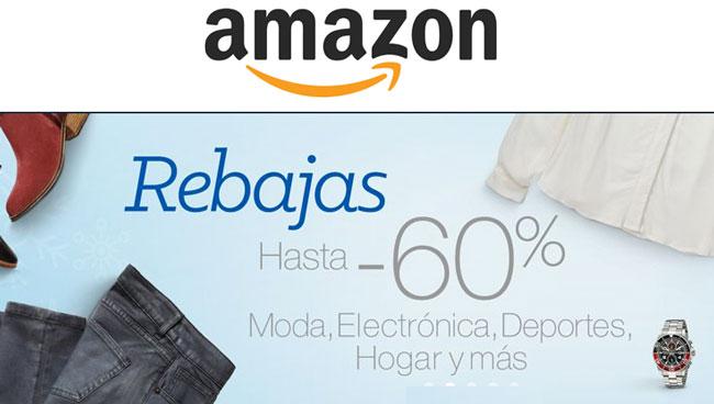 ¡Rebajas en Amazon! Hasta un 60% de descuento en Moda, Deportes, Electrónica y mas