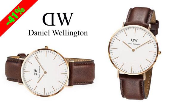 ¡Chollo! Reloj Daniel Wellington Classic St Mawes 0106DW barato 106 euros. 41% Descuento