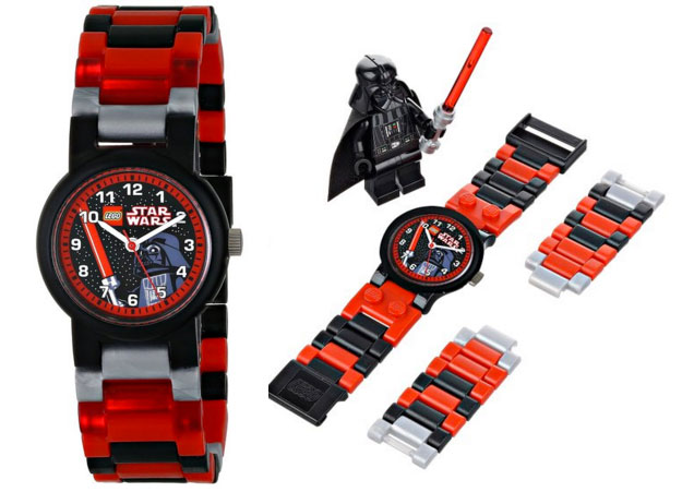 ¡Chollo! Reloj LEGO Star Wars Darth Vader 9002908 barato 23 euros