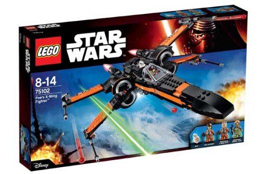 star wars x-wing fighter 75102 barata descuento rebajas