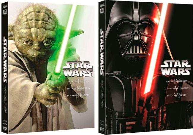 ¡Chollo Cine! Trilogías de Star Wars DVD baratas 21 euros cada