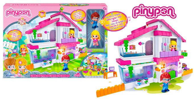 ¡Chollo! Villa de Pin y Pon con muñecos Famosa barata 43,91 euros