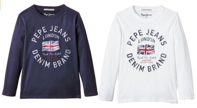 ¡Chollo! Camisetas Pepe Jeans Theodore baratas desde 12 euros. Hasta 49% descuento
