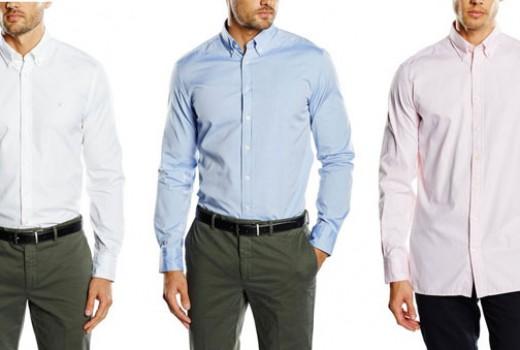 HACKETT-LONDON2C-PLAIN-OXFORD-EMB-camisa-de-hombre-barata-amazon