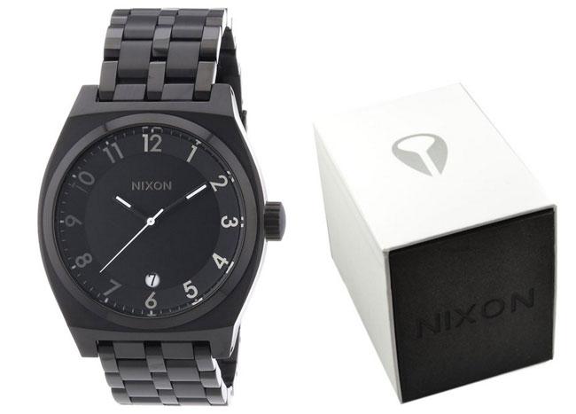 ¡Chollo! Reloj de mujer Nixon A287-230 en negro barato 148 euros. 33% descuento