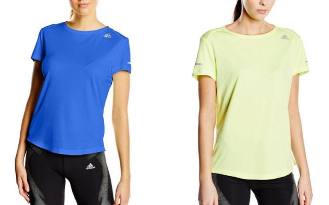 ¡Chollo! Camiseta Adidas Run Tee W barata desde 13 euros.