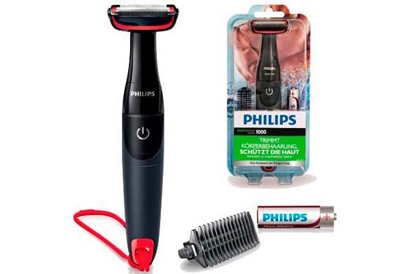 afeitadora corporal philips bg105/10 barata descuento rebajas depilacion