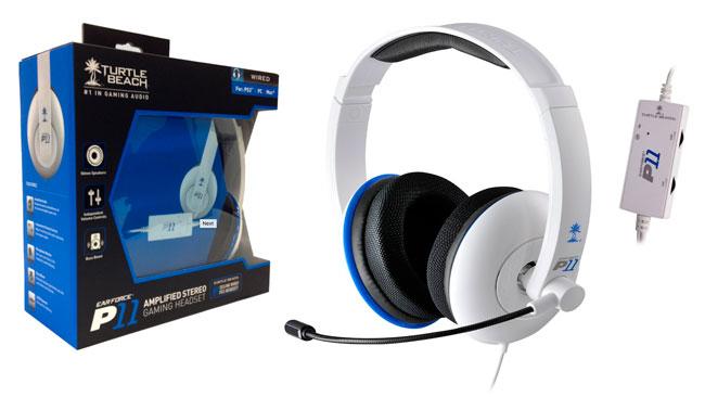 ¡Chollo! Auriculares Gaming Turtle Beach Ear Force P11 baratos 36 euros. 45% descuento