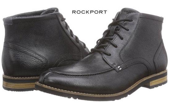 ¡Chollo! Botines piel Rockport LH2 Algonquin Boot baratos desde 55 euros. 61% Descuento
