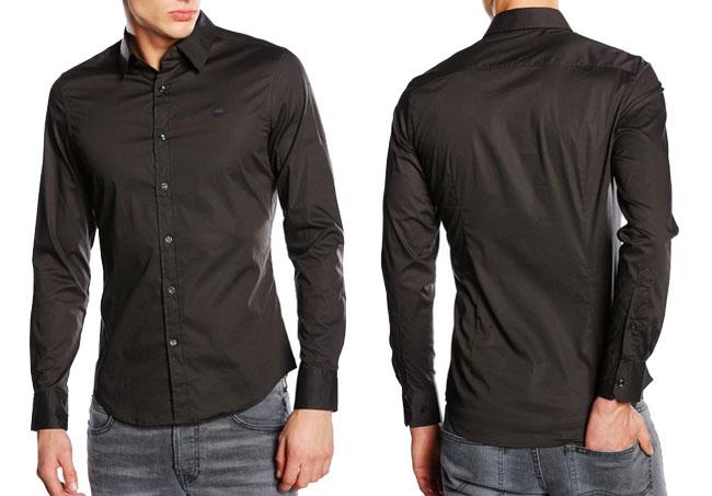¡Chollo! Camisa G-STAR Valdo Core Shirt barata 39 euros. 44% Descuento
