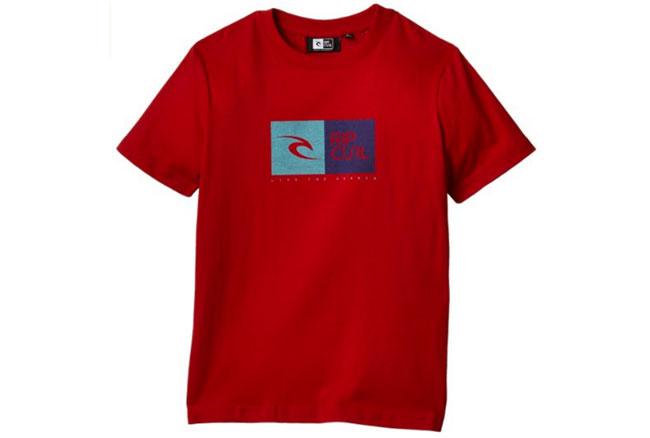 ¡Chollo! Camiseta Rip Curl niño barata 8 euros. 45% Descuento