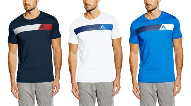 ¡Chollo! Camisetas Le Coq Sportif Cardilu baratas desde 11 euros. 55% Descuento