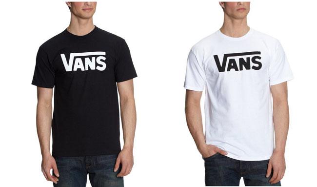 ¡Chollo! camiseta Vans Classic baratas desde 11 euros. Hasta 53% descuento