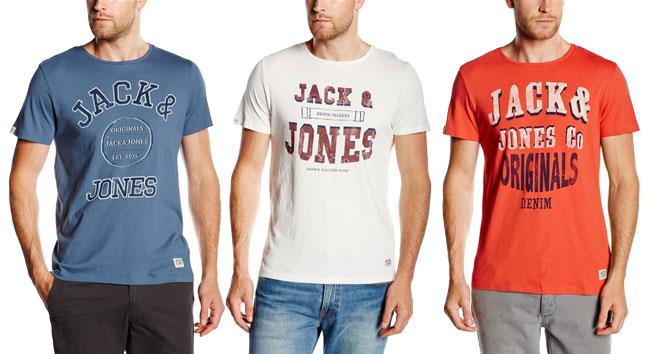 ¡Chollo! Camisetas Jack & Jones 12095804 baratas desde 5 euros. 59% Descuento