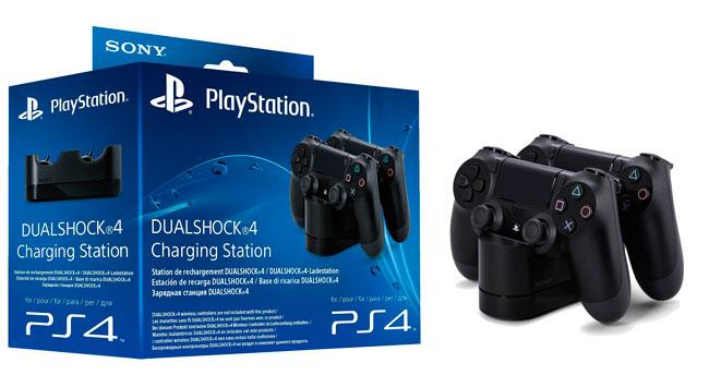 ¡Chollo! Base Cargador Sony DualShock Ps4 para 2 mandos barata 19 euros