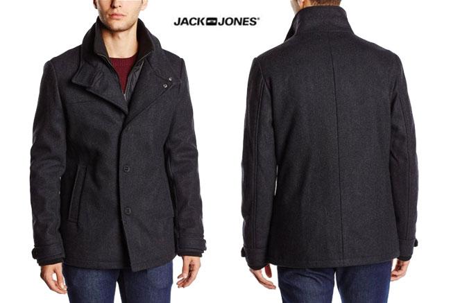 ¡Chollo! Chaqueta Jack & Jones jjcoJOE de Lana barata 63 euros. 55% Descuento