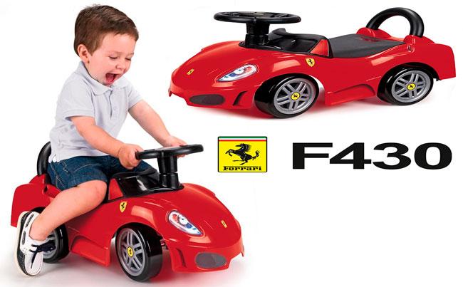 ¡Chollo! Feber Ferrari F430 correpasillos barato 35 euros. 34% descuento