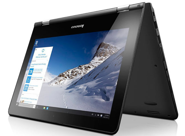 ¡Chollo! Lenovo Yoga 300 Netbook convertible Touchscreen 11,6 pulgadas barato 196 euros