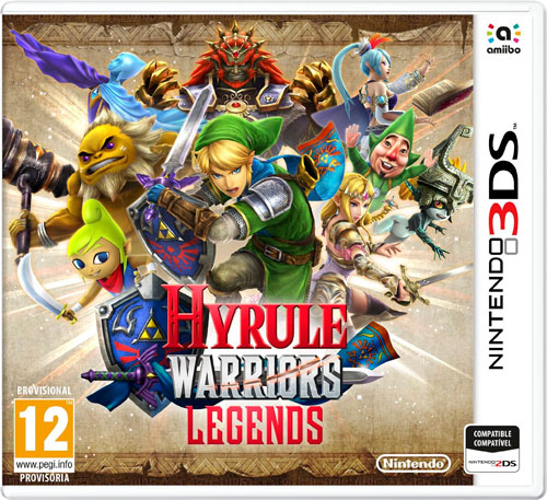 ¡Chollo! Juego Zelda Hyrule Warrior Legends de Nintendo 3DS barato 31 euros