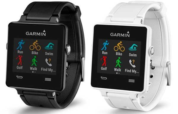 Oferta flash Smartwatch con GPS Garmin Vívoactive barato en amazon españa, reloj con gps para hacer deporte, running golf ciclismo natacion caminar en descuento