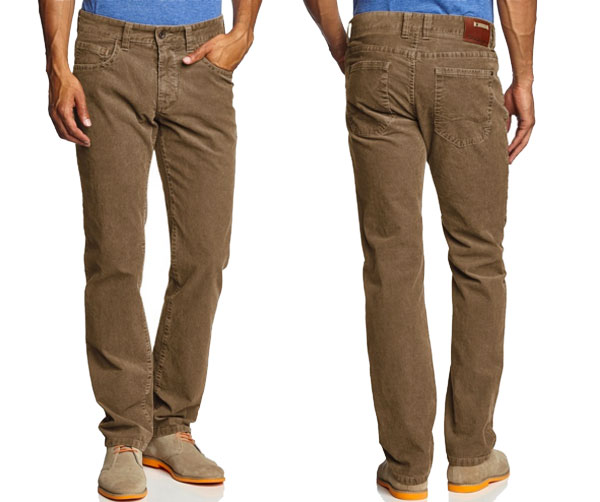 ¡Chollo! Pantalon de pana Camel Active 488725 barato 23 euros. 70% Descuento