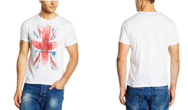 ¡Chollo! camiseta Pepe Jeans London barata 14 euros.