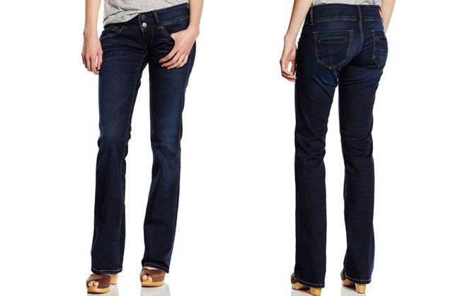 ¡Chollo! Vaqueros Pepe Jeans Pimlico de mujer baratos 44,77 y 45 euros. 53% Descuento