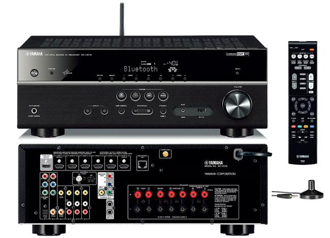 ¡Chollo! Receptor AV Equipo Música Yamaha RX-V579 barato 349 euros. 42% Descuento