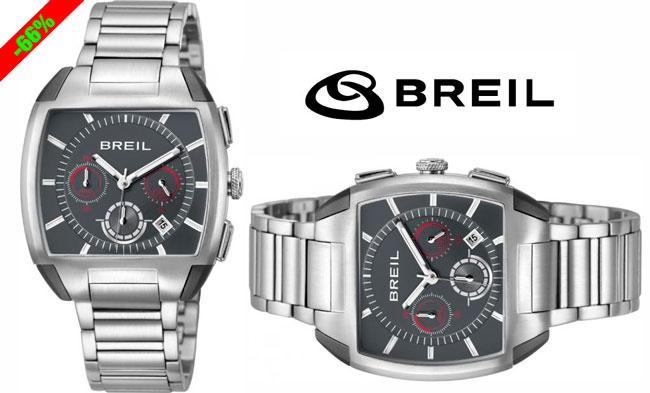 ¡Chollo! Reloj hombre  Breil Be Squared TW1114 barato 82 euros. 66% Descuento