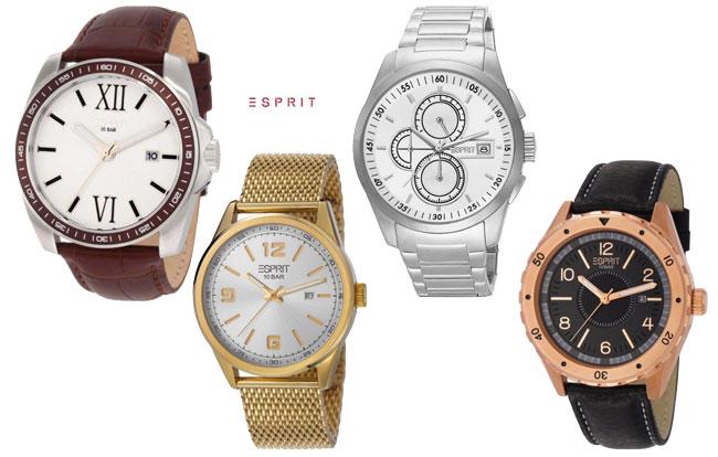 ¡Chollo Rebajas! Relojes de moda Esprit desde 39 euros. Descuentos de hasta 66%