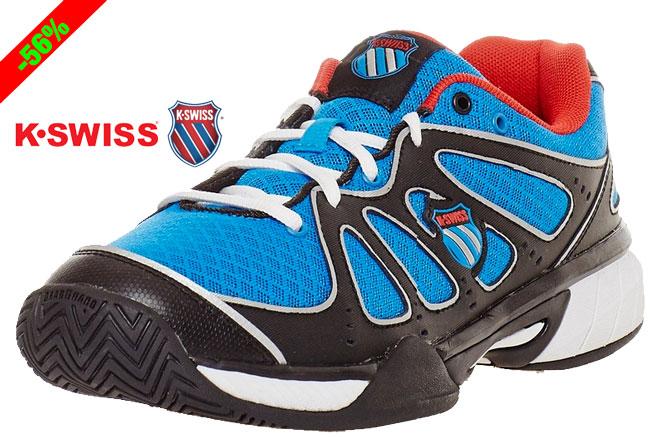 ¡Chollo! Zapatillas de Padel Tenis K-Swiss Express 100 baratas 36 euros. 56% Descuento