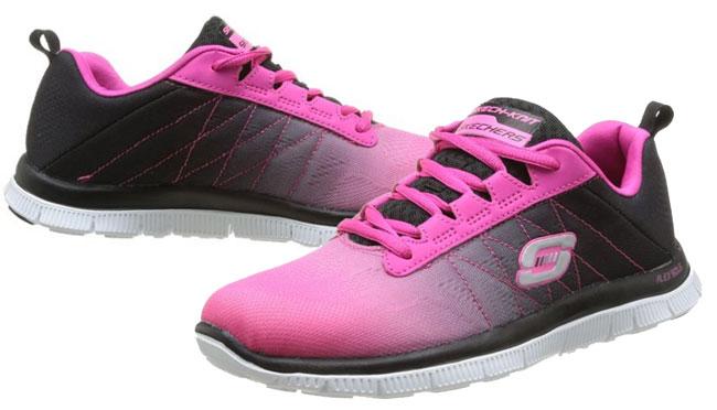¡Chollo! Zapatillas Skechers Flex Appeal barata desde 29 euros. 55% Descuento