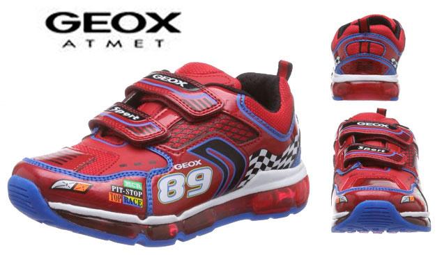 edc6fd02 Zapatillas deportivas con luces Geox J Android Boy baratas 23 euros. 57%  Descuento