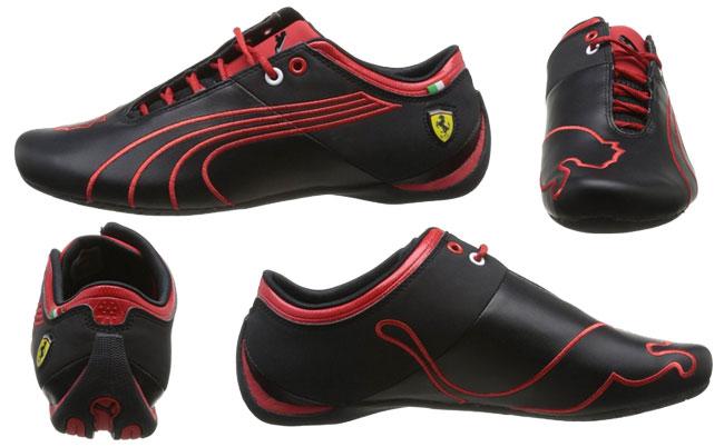 ¡Chollo! Zapatillas de piel Puma Ferrari Future Cat M1 Tifo baratas 48 euros. 54% Descuento