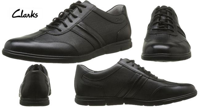 Zapatos de piel cuero clarks denner race 203575357 baratas for Zapateros baratos amazon
