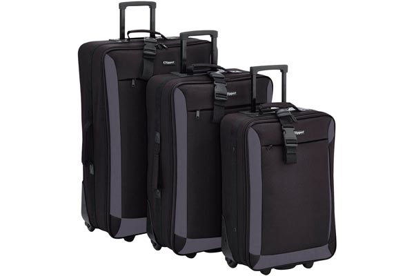 juego de maletas Clipper 301NO Negro-82.0-liters
