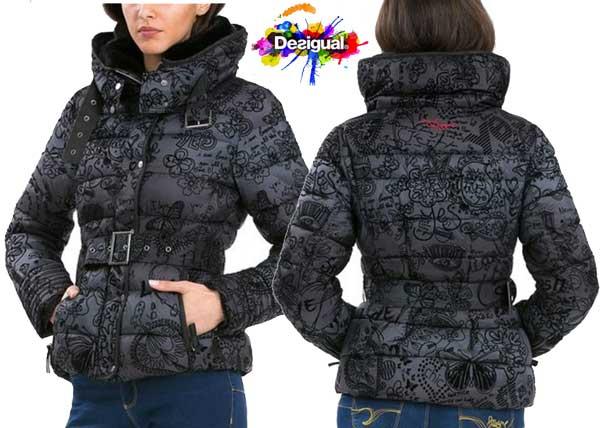 abrigo desigual alena barato