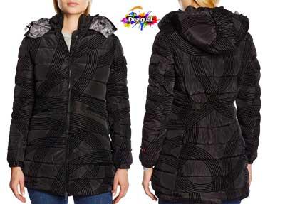 abrigo desigual five barato
