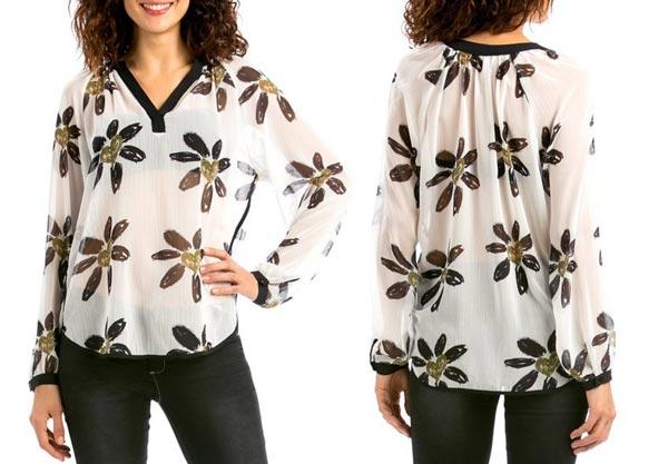 blusa desigual happy barata amazon