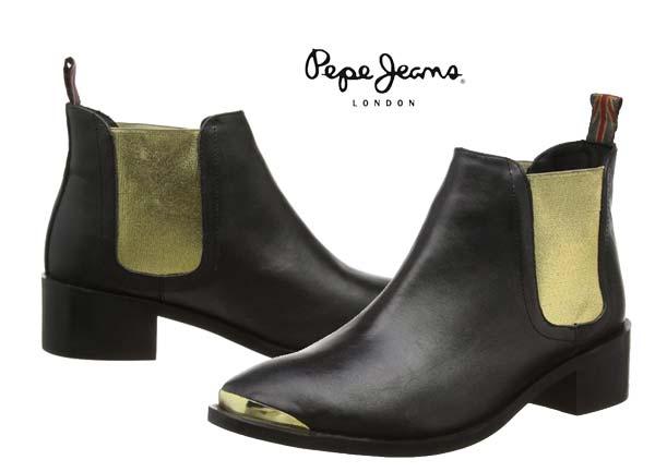 botines pepe jeans angie elastic baratos