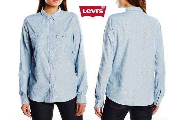 camisa levis modern western